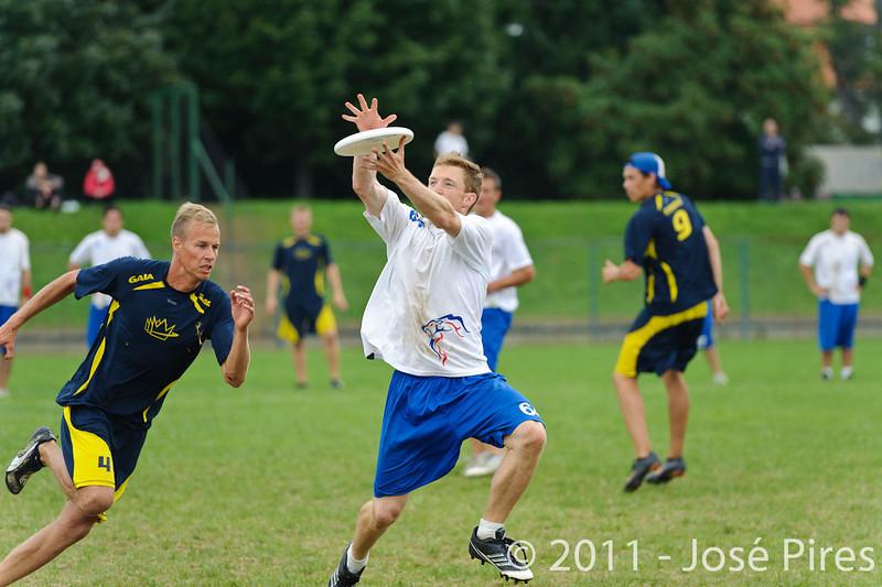 EUC2011, Maribor Slovenia.<br /> Sweden vs Great Britain. Final. Open Division<br /> PhotoId :2011-08-06-1581