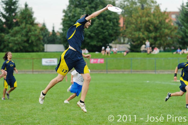 EUC2011, Maribor Slovenia.<br /> Sweden vs Great Britain. Final. Open Division<br /> PhotoId :2011-08-06-1512