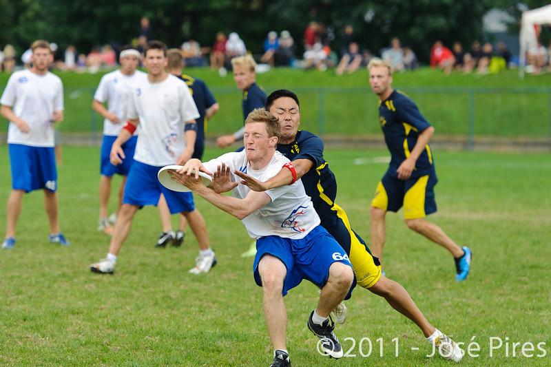 EUC2011, Maribor Slovenia.<br /> Sweden vs Great Britain. Final. Open Division<br /> PhotoId :2011-08-06-1524