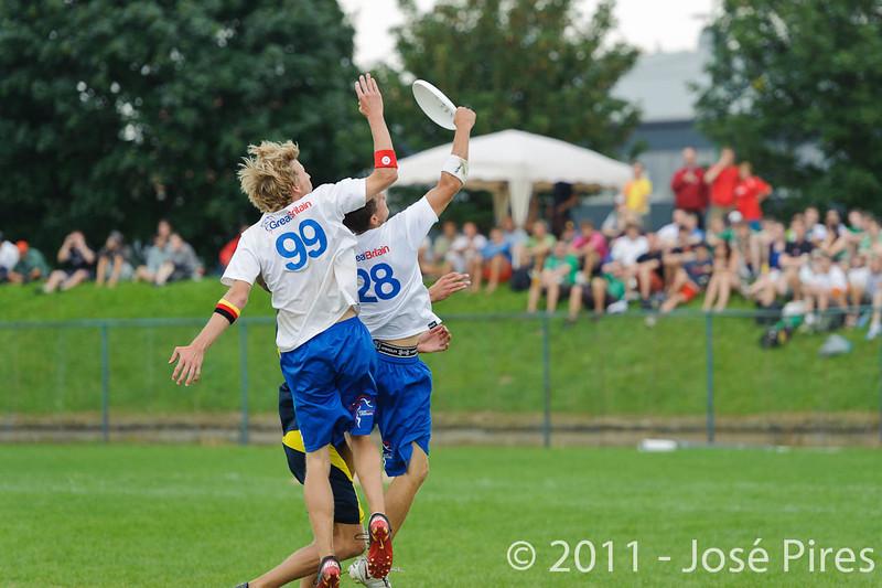 EUC2011, Maribor Slovenia.<br /> Sweden vs Great Britain. Final. Open Division<br /> PhotoId :2011-08-06-1433