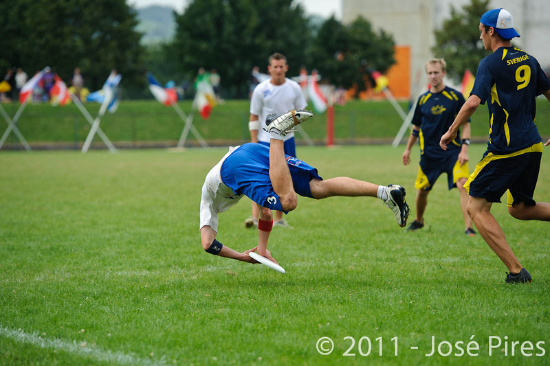 EUC2011, Maribor Slovenia.<br /> Sweden vs Great Britain. Final. Open Division<br /> PhotoId :2011-08-06-1676