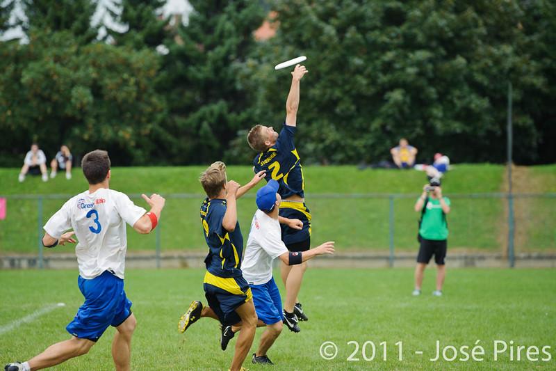 EUC2011, Maribor Slovenia.<br /> Sweden vs Great Britain. Final. Open Division<br /> PhotoId :2011-08-06-1660