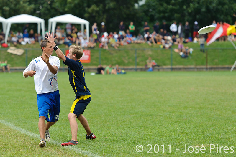EUC2011, Maribor Slovenia.<br /> Sweden vs Great Britain. Final. Open Division<br /> PhotoId :2011-08-06-1655