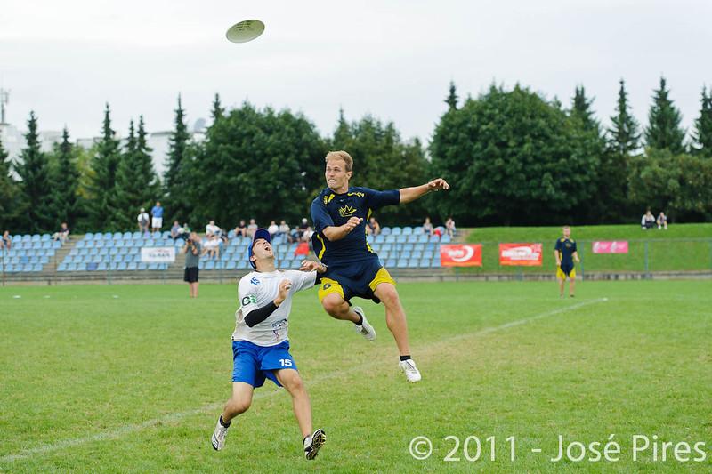 EUC2011, Maribor Slovenia.<br /> Sweden vs Great Britain. Final. Open Division<br /> PhotoId :2011-08-06-1636