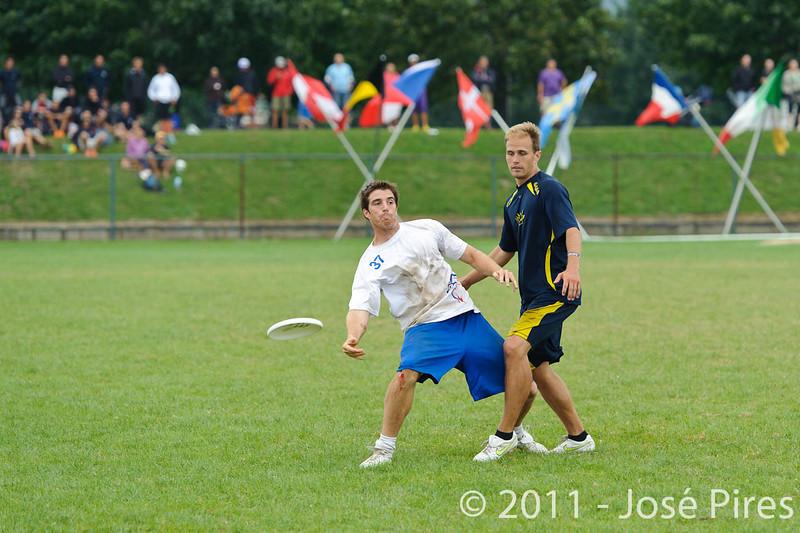 EUC2011, Maribor Slovenia.<br /> Sweden vs Great Britain. Final. Open Division<br /> PhotoId :2011-08-06-1622