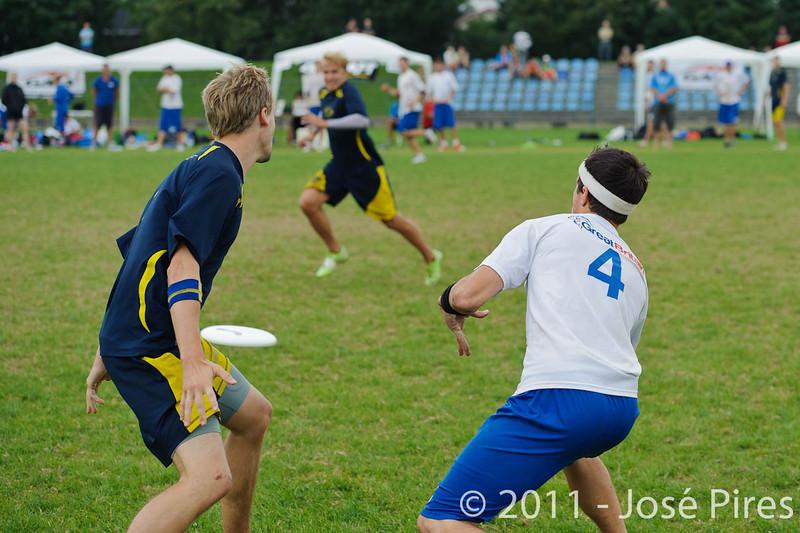 EUC2011, Maribor Slovenia.<br /> Sweden vs Great Britain. Final. Open Division<br /> PhotoId :2011-08-06-1411