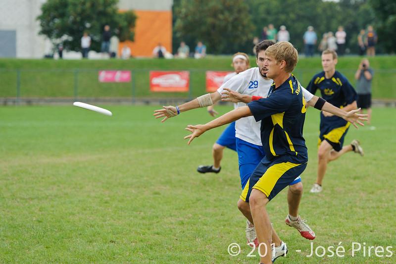 EUC2011, Maribor Slovenia.<br /> Sweden vs Great Britain. Final. Open Division<br /> PhotoId :2011-08-06-1403