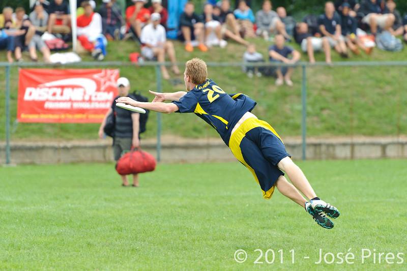 EUC2011, Maribor Slovenia.<br /> Sweden vs Great Britain. Final. Open Division<br /> PhotoId :2011-08-06-1341