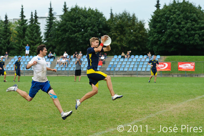 EUC2011, Maribor Slovenia.<br /> Sweden vs Great Britain. Final. Open Division<br /> PhotoId :2011-08-06-1641