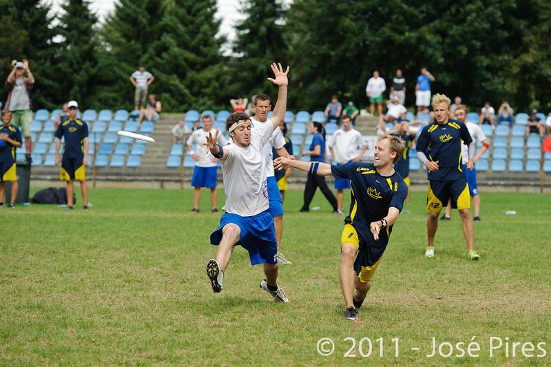 EUC2011, Maribor Slovenia.<br /> Sweden vs Great Britain. Final. Open Division<br /> PhotoId :2011-08-06-1696