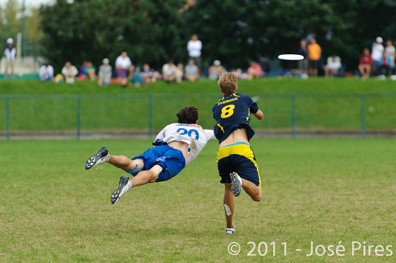 EUC2011, Maribor Slovenia.<br /> Sweden vs Great Britain. Final. Open Division<br /> PhotoId :2011-08-06-1732