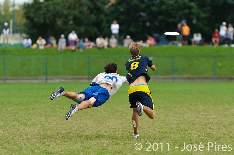 EUC2011, Maribor Slovenia.<br /> Sweden vs Great Britain. Final. Open Division<br /> PhotoId :2011-08-06-1732