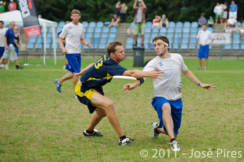 EUC2011, Maribor Slovenia.<br /> Sweden vs Great Britain. Final. Open Division<br /> PhotoId :2011-08-06-1718