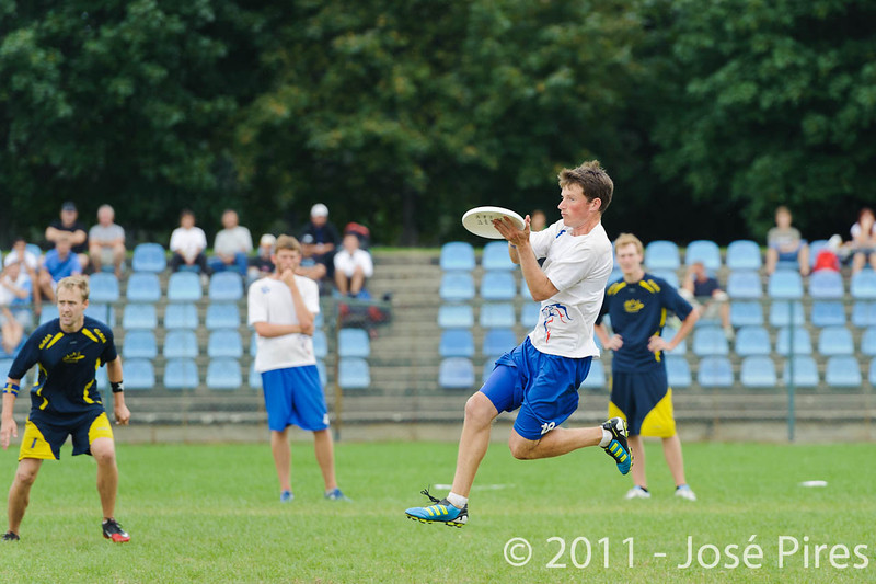 EUC2011, Maribor Slovenia.<br /> Sweden vs Great Britain. Final. Open Division<br /> PhotoId :2011-08-06-1577
