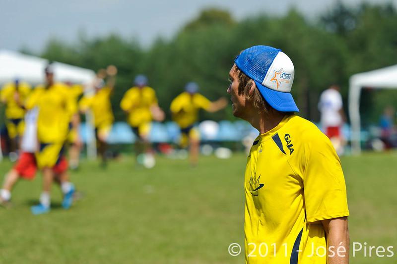 EUC2011, Maribor Slovenia.<br /> France vs Sweden. Open Division<br /> PhotoId :2011-08-03-0612