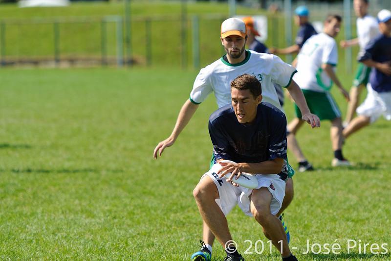 EUC2011, Maribor Slovenia.<br /> Ireland vs Finland. Open Division<br /> PhotoId :2011-08-03-0051