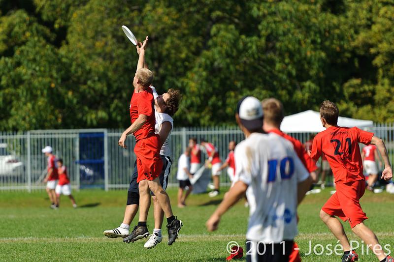 EUC2011, Maribor Slovenia.<br /> Russia vs Denmark. Open Division<br /> PhotoId :2011-08-03-0017