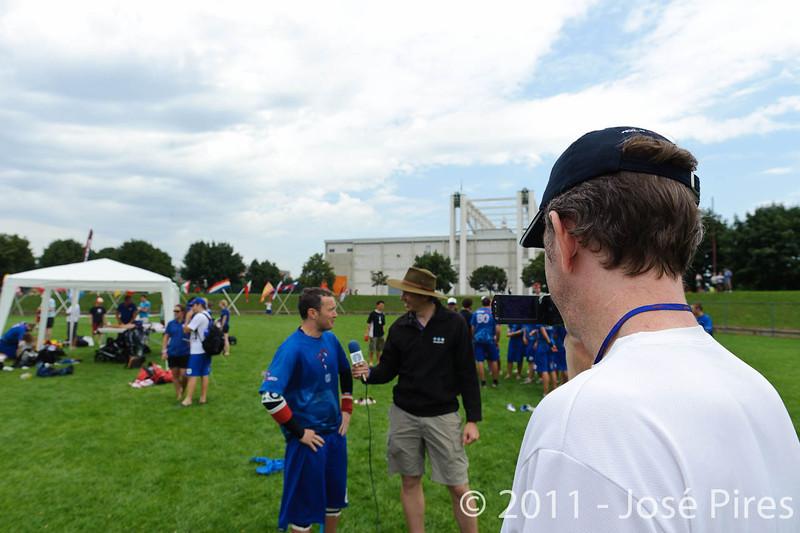 EUC2011, Maribor Slovenia.<br /> Sidelines.<br /> PhotoId : 2011-08-06-0489