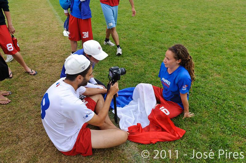 EUC2011, Maribor Slovenia.<br /> Sidelines.<br /> PhotoId : 2011-08-04-0799