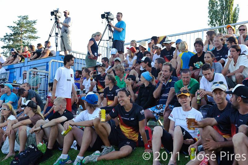 EUC2011, Maribor Slovenia.<br /> Sidelines.<br /> PhotoId : 2011-08-05-0760