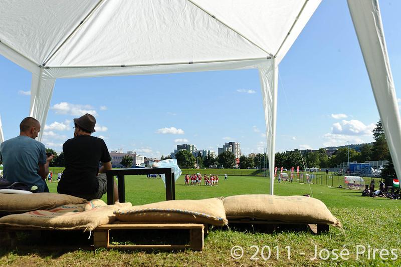EUC2011, Maribor Slovenia.<br /> Sidelines.<br /> PhotoId : 2011-08-02-0878