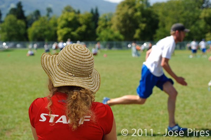 EUC2011, Maribor Slovenia.<br /> Sidelines.<br /> PhotoId : 2011-08-05-0118