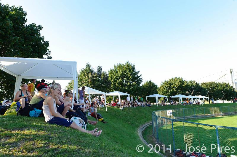 EUC2011, Maribor Slovenia.<br /> Sidelines.<br /> PhotoId : 2011-08-02-1093