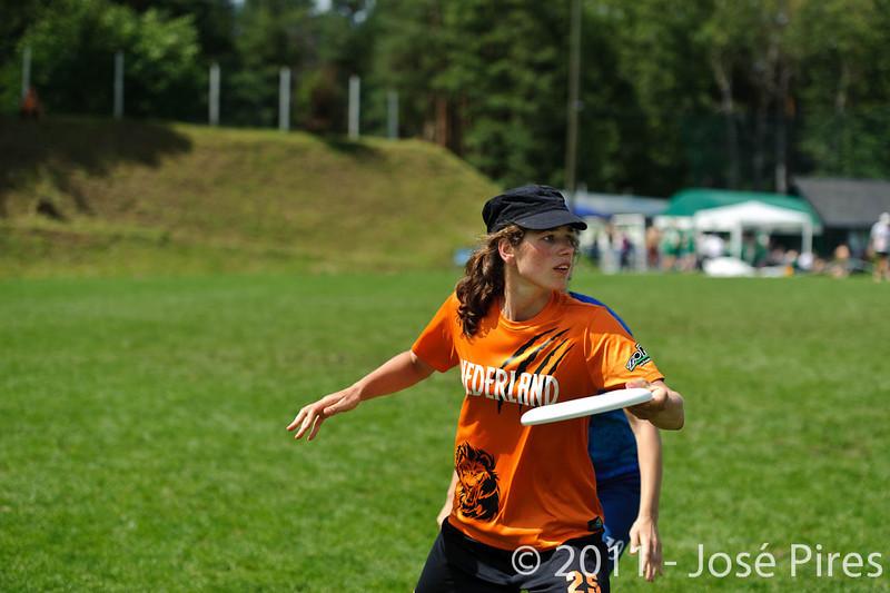 EUC2011, Maribor Slovenia.<br /> Czech Republic vs Netherlands. Women Division.<br /> PhotoID : 2011-07-31-0464