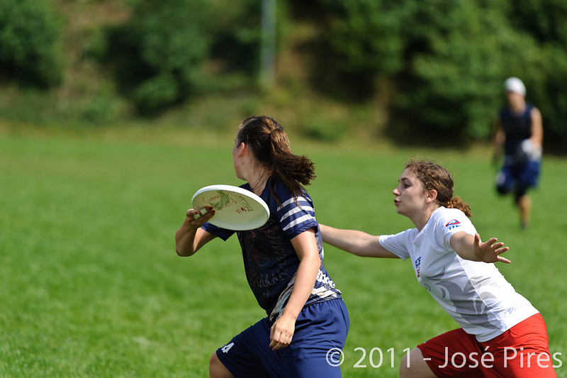 EUC2011, Maribor Slovenia.<br /> Finland vs France. Women Division.<br /> PhotoID : 2011-07-31-0588