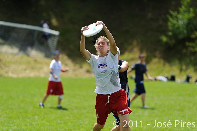 EUC2011, Maribor Slovenia.<br /> Finland vs France. Women Division.<br /> PhotoID : 2011-07-31-0527