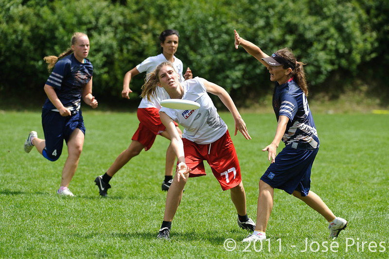 EUC2011, Maribor Slovenia.<br /> Finland vs France. Women Division.<br /> PhotoID : 2011-07-31-0385
