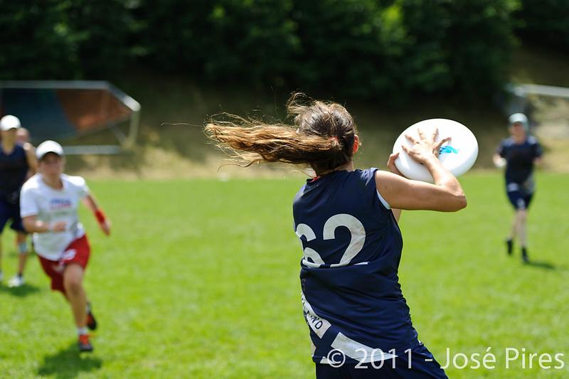 EUC2011, Maribor Slovenia.<br /> Finland vs France. Women Division.<br /> PhotoID : 2011-07-31-0413