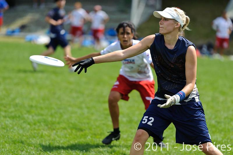 EUC2011, Maribor Slovenia.<br /> Finland vs France. Women Division.<br /> PhotoID : 2011-07-31-0587