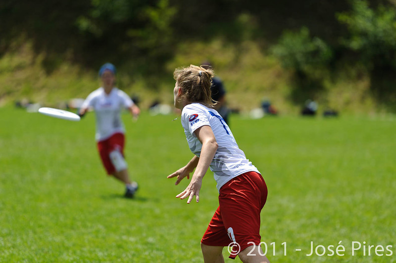 EUC2011, Maribor Slovenia.<br /> Finland vs France. Women Division.<br /> PhotoID : 2011-07-31-0530