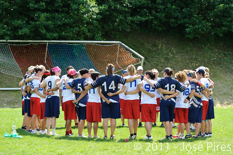 EUC2011, Maribor Slovenia.<br /> Finland vs France. Women Division.<br /> PhotoID : 2011-07-31-0609