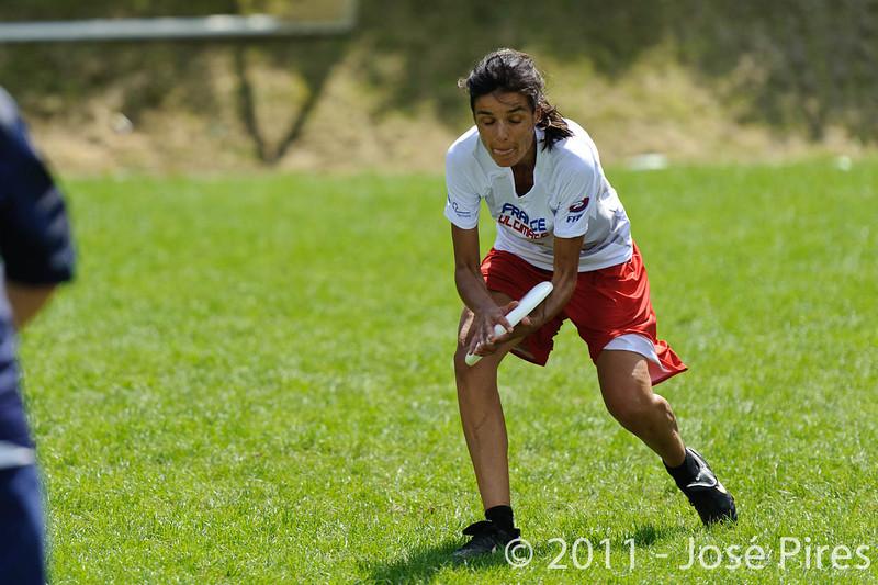 EUC2011, Maribor Slovenia.<br /> Finland vs France. Women Division.<br /> PhotoID : 2011-07-31-0567