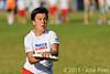 EUC2011, Maribor Slovenia.<br /> Netherlands vs France. 11th place. Women Division<br /> PhotoId :2011-08-05-0519