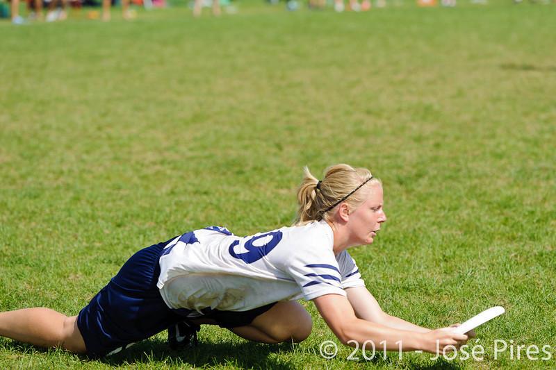 EUC2011, Maribor Slovenia.<br /> Germany vs Finland. Semi-final. Women Division<br /> PhotoId :2011-08-05-0448