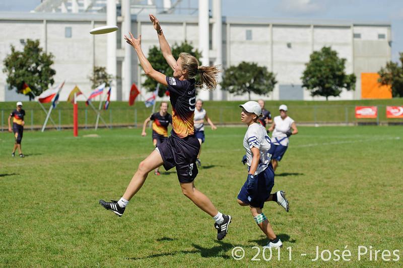 EUC2011, Maribor Slovenia.<br /> Germany vs Finland. Semi-final. Women Division<br /> PhotoId :2011-08-05-0416
