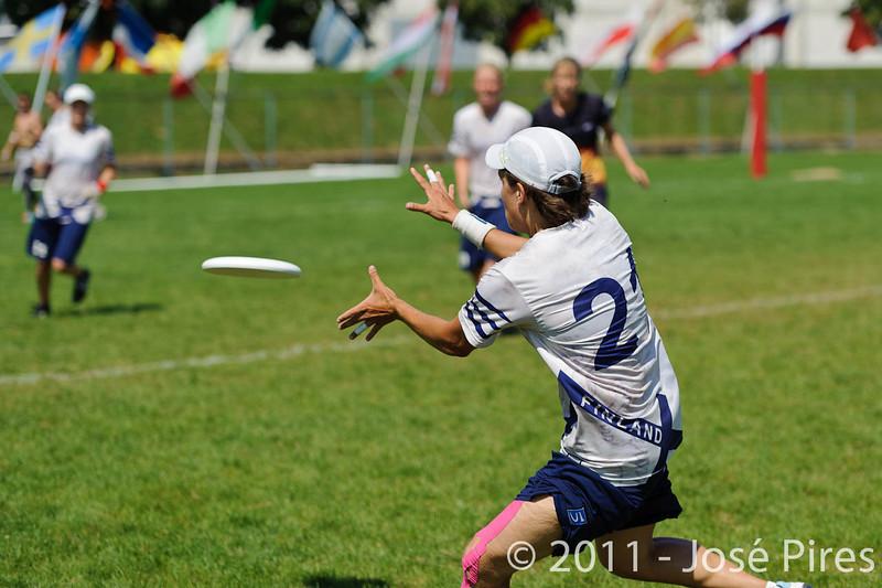 EUC2011, Maribor Slovenia.<br /> Germany vs Finland. Semi-final. Women Division<br /> PhotoId :2011-08-05-0364