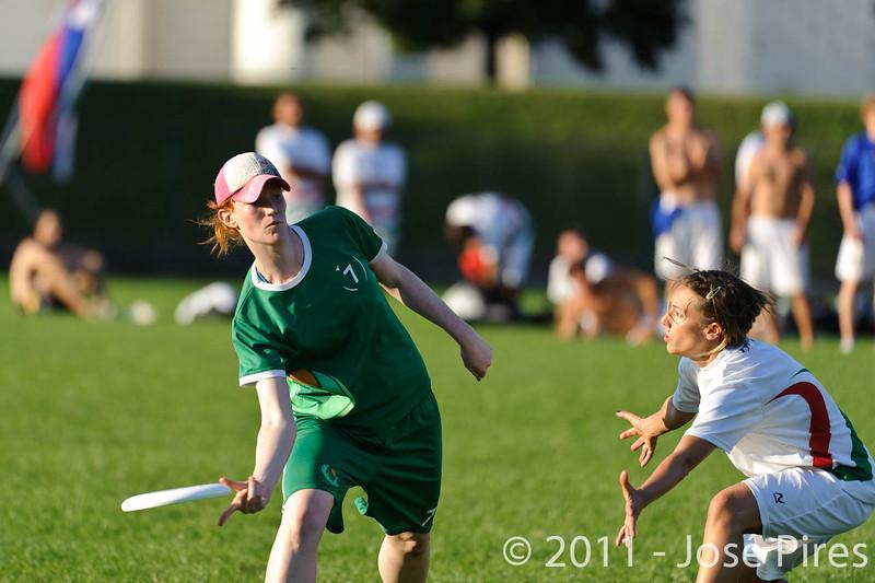 EUC2011, Maribor Slovenia.<br /> Italy vs Ireland. Women Division.<br /> PhotoID : 2011-07-31-1061
