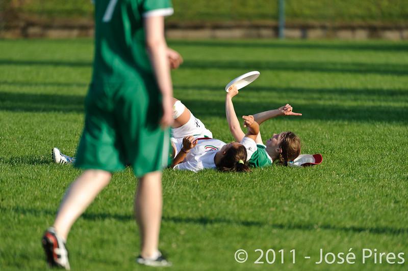 EUC2011, Maribor Slovenia.<br /> Italy vs Ireland. Women Division.<br /> PhotoID : 2011-07-31-1010