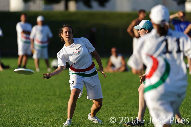 EUC2011, Maribor Slovenia.<br /> Italy vs Ireland. Women Division.<br /> PhotoID : 2011-07-31-1073
