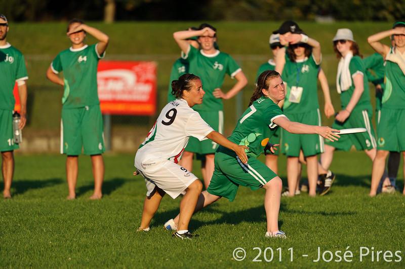 EUC2011, Maribor Slovenia.<br /> Italy vs Ireland. Women Division.<br /> PhotoID : 2011-07-31-1190