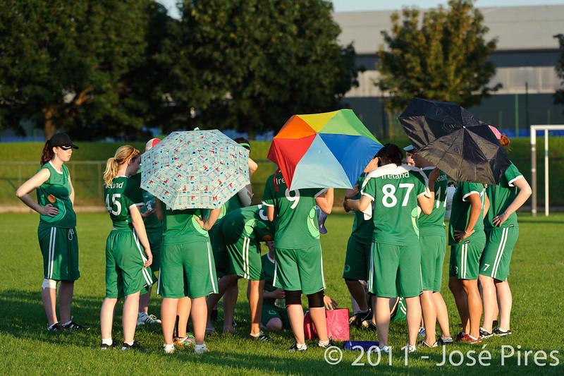 EUC2011, Maribor Slovenia.<br /> Italy vs Ireland. Women Division.<br /> PhotoID : 2011-07-31-1194