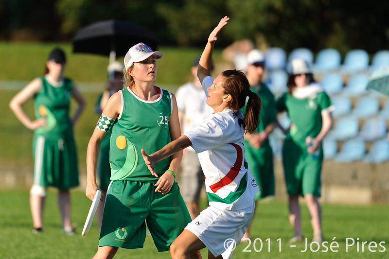 EUC2011, Maribor Slovenia.<br /> Italy vs Ireland. Women Division.<br /> PhotoID : 2011-07-31-1059