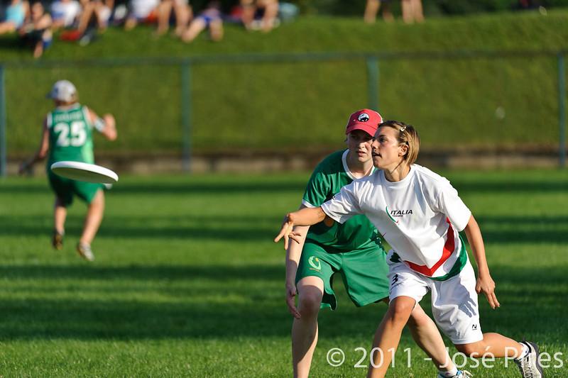 EUC2011, Maribor Slovenia.<br /> Italy vs Ireland. Women Division.<br /> PhotoID : 2011-07-31-1006