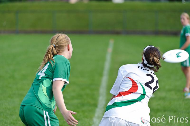 EUC2011, Maribor Slovenia.<br /> Italy vs Ireland. Women Division.<br /> PhotoID : 2011-07-31-0923