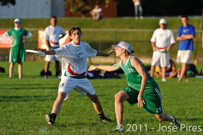 EUC2011, Maribor Slovenia.<br /> Italy vs Ireland. Women Division.<br /> PhotoID : 2011-07-31-1169