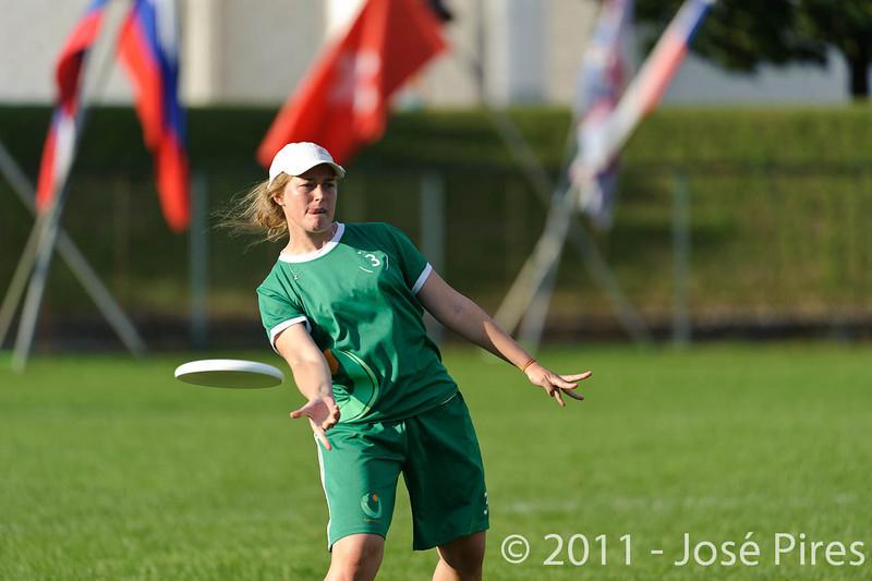 EUC2011, Maribor Slovenia.<br /> Italy vs Ireland. Women Division.<br /> PhotoID : 2011-07-31-0971